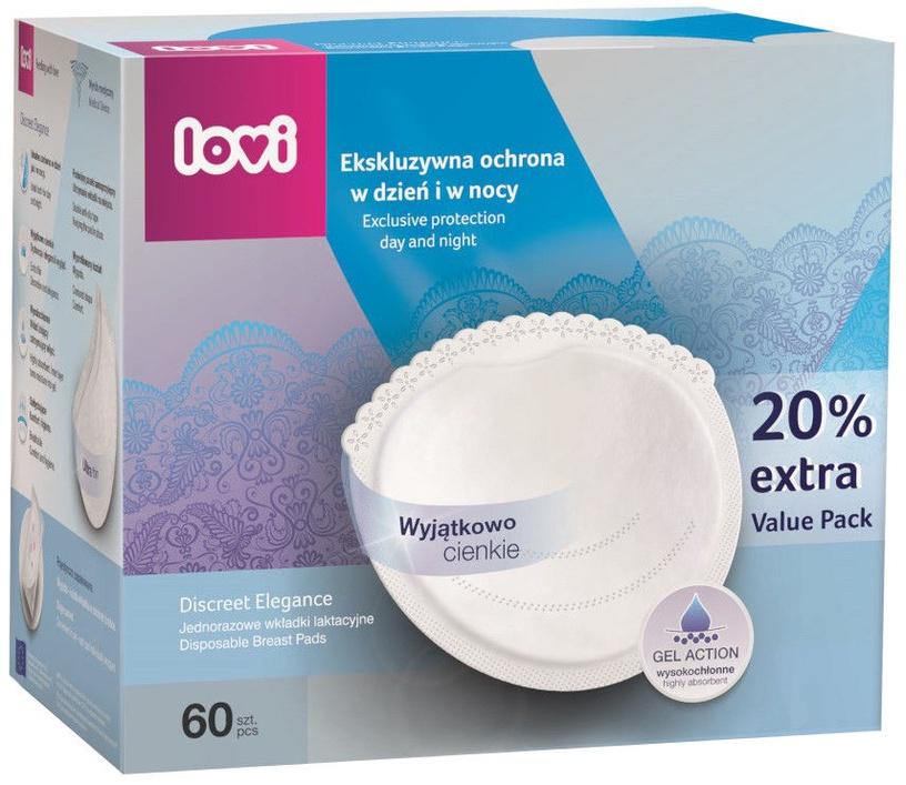 Lovi Discreet Elegance Breast Pads 60pcs White 19/607