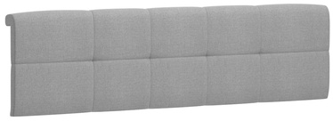 Black Red White Tetrix Headboard Upholstered Cover 160 Gray