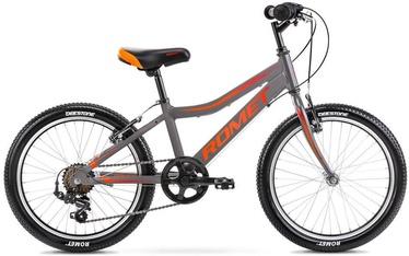 "Bērnu velosipēds Romet Rambler Kids 1, sarkana/pelēka, 20"""