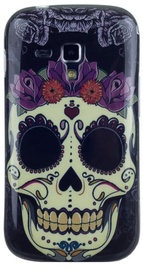 Zooky Silicone Back Case With Skulls Art Design Samsung Trend