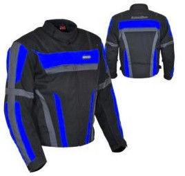 Nazran Sport Line BlkGreyBlue Jacket 786-9019-C L
