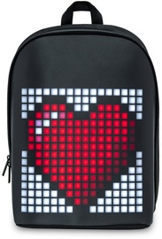 Рюкзак Divoom Pixoo LED Pixel Art Frame, черный, 13″
