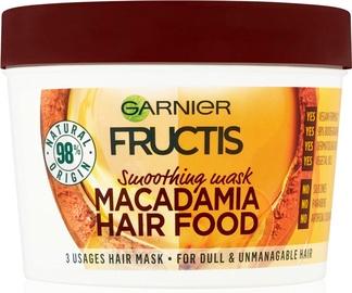 Matu maska Garnier Fructis Nourishing Macadamia Hair Food, 390 ml
