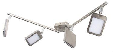Gaismeklis Verners Yuna Spotlight 4x4W LED Nickel