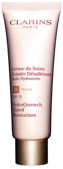 Tonizējošais krēms Clarins HydraQuench Tinted Moisturizer 03 Peach, 50 ml