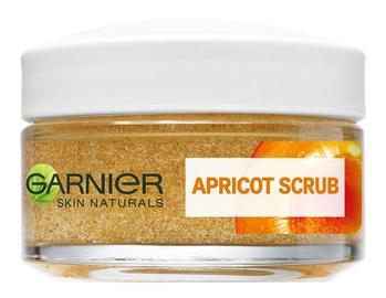 Скраб для лица Garnier Skin Naturals Apricot Scrub, 50 мл