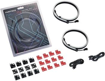 Светодиодная лента с магнитным креплением Phanteks Neon Digital RGB LED Strip Combo Set 2x 0.4m