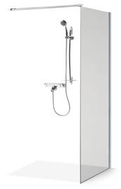 Стенка для душа Brasta Glass Ema, 1100 мм x 2000 мм