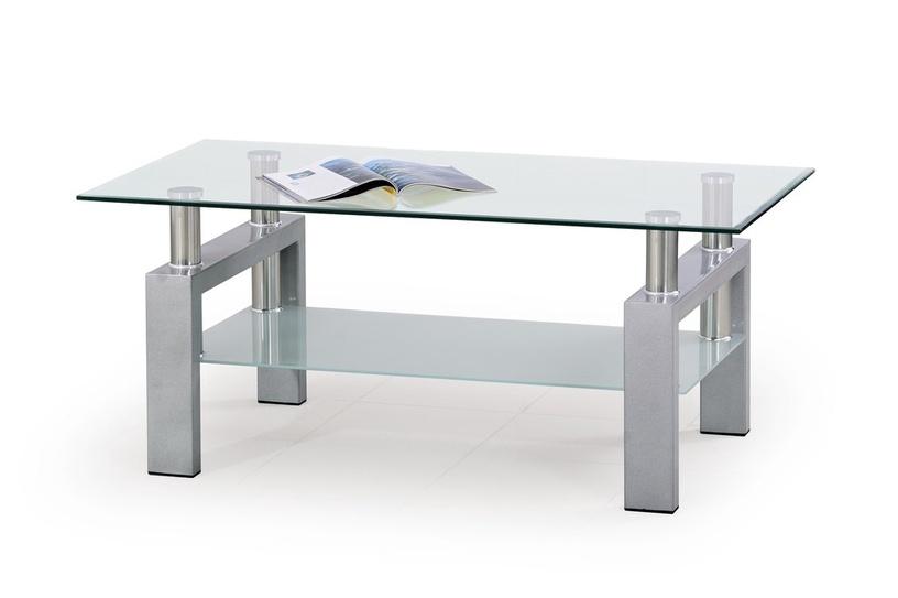 Kafijas galdiņš Halmar Diana Silver, 1100x600x450 mm