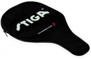Stiga Sweden Table Tennis Racket Cover Black