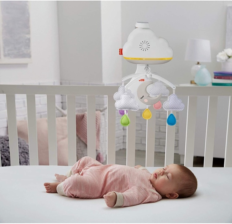 Fisher Price Calming Clouds Mobile & Soother GRP99