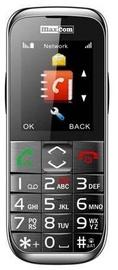 Mobilais telefons Maxcom MM720BB, melna