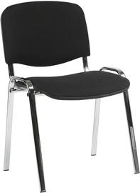 Apmeklētāju krēsls Home4you Iso Black/Chrome 633057