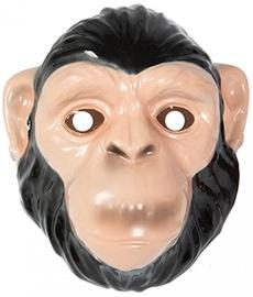 Маска Monkey, коричневый, 220 мм