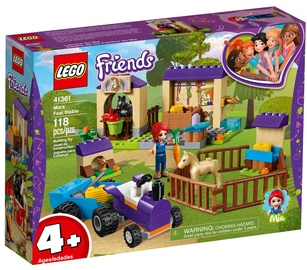 Konstruktors Lego Friends Mia's Foal Stable 41361