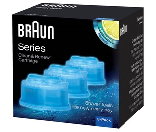 Kārtridžs Braun CCR3 Clean & Renew Cleaning Cartrige 3-Pack