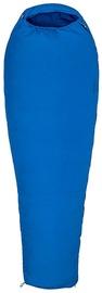 Guļammaiss Marmot NanoWave 25 Regular Blue, kreisais, 198 cm