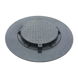 SN 780PE-B-PL1 A15 Garden Sewer Cover 1.5T Black