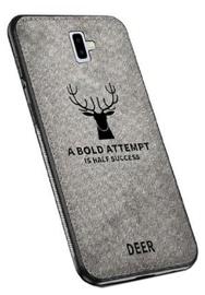 Mocco Deer Back Case For Samsung Galaxy J6 Plus J610 Grey