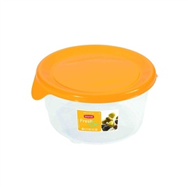 Curver Food Container Round 0,5L Fresh&Go Yellow