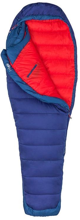 Спальный мешок Marmot Women's Trestles Elite 20 Eco Midnight/Storm, левый, 182 см