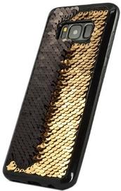 TakeMe Magic Shine Paillette Back Case For Huawei Mate 10 Lite Gold/Black