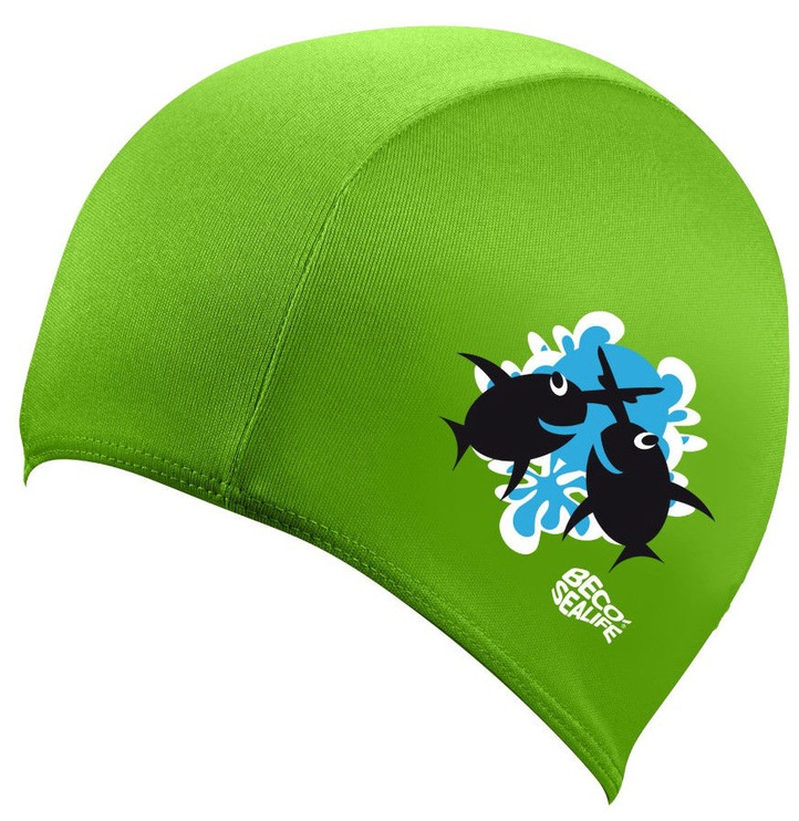 Beco Sealife Junior Swimming Cap Green