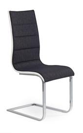 Ēdamistabas krēsls Halmar K - 105 Graphite/White