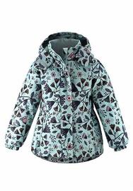 Зимняя куртка Lassie Maike 721734-8192-122, зеленый, 122 см