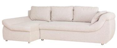 Stūra dīvāns Bodzio Rojal Latte, kreisais, 258 x 145 x 73 cm
