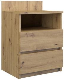Ночной столик Top E Shop M1 Malwa Artisan, дубовый, 40x32x59 см