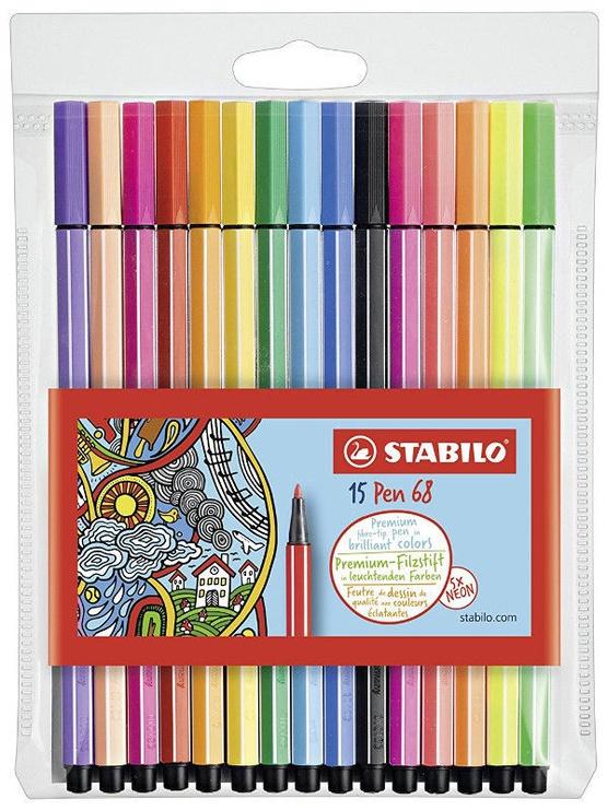 Stabilo Pen 68 15pcs