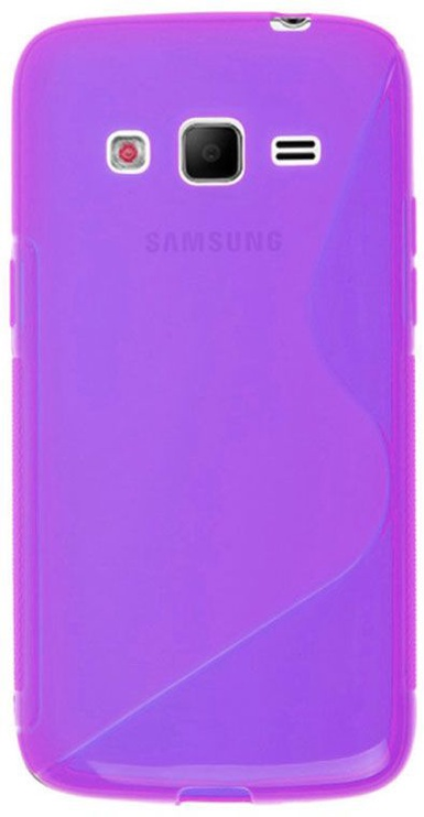 Telone Back Case S-Case for Samsung G386 Core LTE Violet