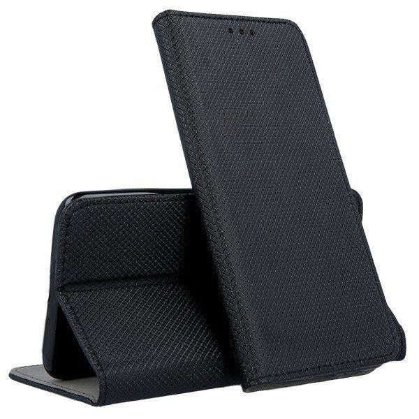 Mocco Smart Magnet Book Case For Xiaomi Redmi Note 7/Note 7 Pro Black