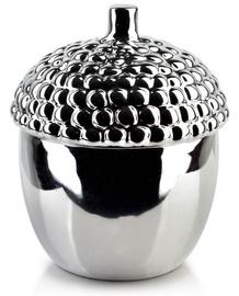 Mondex Gia Decorative Acorn Silver 17cm