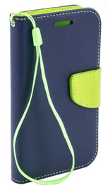 Telone Fancy Diary Bookstand Case For Nokia 6.1/6 2018 Blue/Light Green