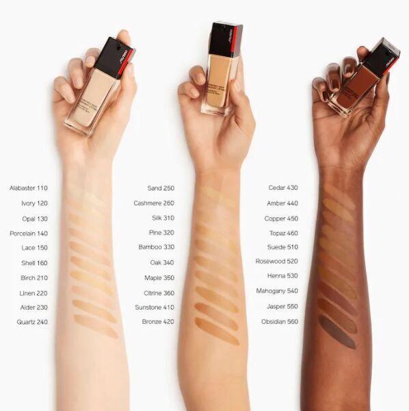 Tonizējošais krēms Shiseido Synchro Skin 240 Quartz, 30 ml