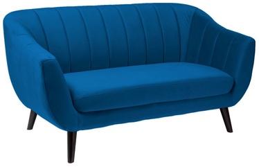 Dīvāns Signal Meble Elite 2 Dark Blue, 153 x 85 x 83 cm