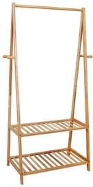 Drēbju pakaramais Songmics Bamboo, brūna