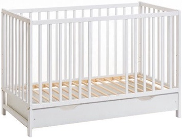 ASM Cypi II Plus Baby Cot White