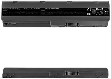 Qoltec Long Life Notebook Battery For HP/Compaq CQ62 4400mAh