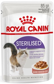 Royal Canin FHN Sterilised In Gravy 85g 12pcs