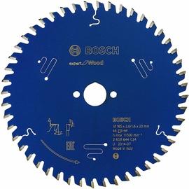 Griešanas disks Bosch Circular Saw, 165 mm x 20 mm