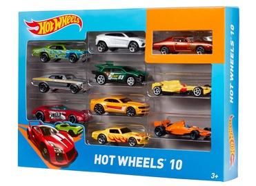 Rotaļlietu komplekts Hot Wheels 54886, 10gab.