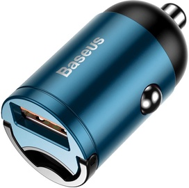 Baseus Tiny Star Mini USB Car Charger QC 3.0 Blue