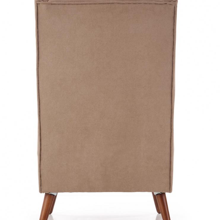 Atzveltnes krēsls Halmar Chester, bēša, 85x67x114 cm