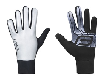 Force Reflect Full Gloves Gray XXL
