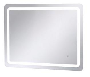 Зеркало Homede, с освещением, подвесной, 80 см x 60 см