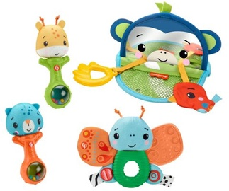 Grabulis Fisher Price Hello Senses Play Kit, daudzkrāsains, 4 gab.