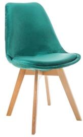 Ēdamistabas krēsls Signal Meble Dior Velvet Buk Green